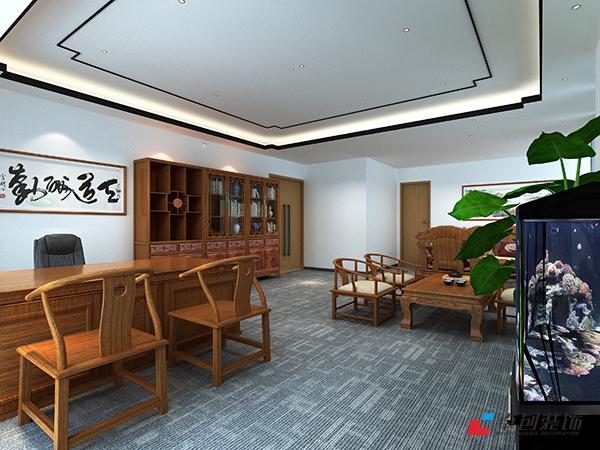 合肥太平洋森活广场办公室装修案例效果图