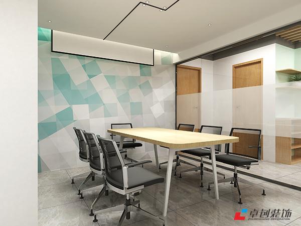 400平办公室简约风格的会议室怎么设计好看