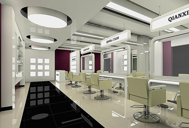 合肥美容美发店装修设计
